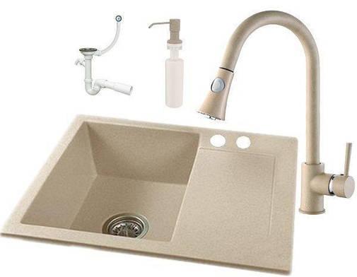 Кухонна мийка Granitan Snake, фото 2