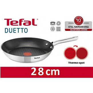 Сковородка TEFAL DUETTO 28 см, фото 2