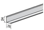 Усиленный угловой профиль 3,05 м VAGO
