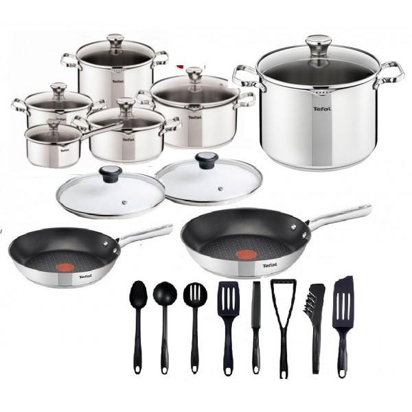 Набор посуды TEFAL DUETTO 24 шт 24/28 см