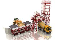 Бетоносмесительная установка продуктивністю 25 м.куб/год (БСУ-25)