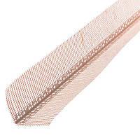Угол ПВХ перфорированный с сеткой 10х10 мм 2.5 м