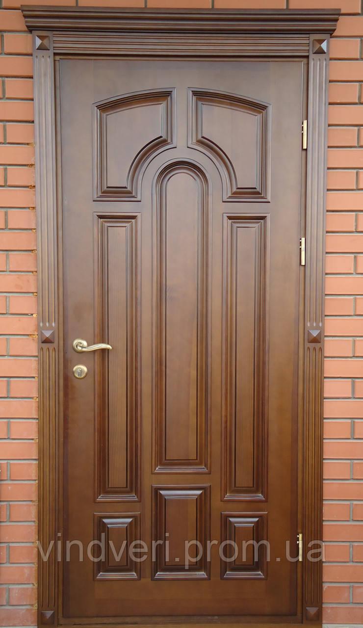Комнатные двери из натурального дерева