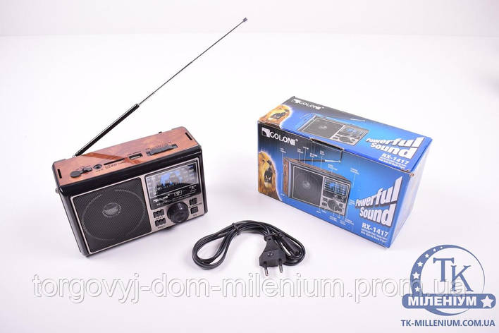 Радио+USB+FM  GOLON RX-1417, фото 2