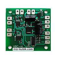Плата контроллера обмена валют и ценников АЗС (шина RS485)