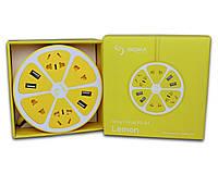 Сетевой фильтр Sigma mobile Smart Fruit PS-44, 8-2, Lemon