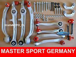 Комплект передних рычагов Master Sport Audi A6 C6, фото 3