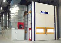 Окрасочно-сушильные камеры OMIA (Франция)