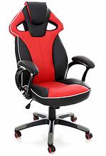 Крісло спортивне ігрове Червоно-чорне