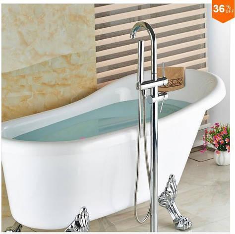 Смеситель для ванны хром, фото 2