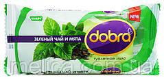 Туалетное мыло Dobra Зеленый чай и Мята - 60 г.
