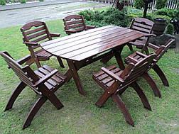 Садовая мебель деревянное, фото 3