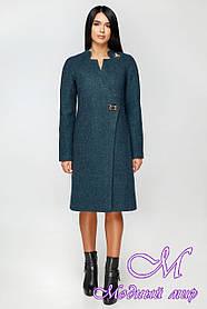 Женское батальное пальто осень весна (р. 44-54) арт. 1152 Тон 4