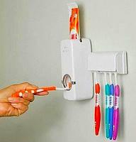 Автоматический дозатор зубной пасты и Держатель щетки KAIXIN