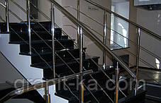 Каменная лестница из гранита, фото 2