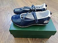 Lacoste лаковые туфли для девочки 26 размер Оригинал