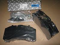 Колодка тормозная дисковая (комплект на ось) STANDARD BPW RS-SB 4309T (RIDER) (арт. RD 29171PRO), AFHZX