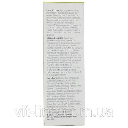 Derma E, Очищаюча маска з активованим вугіллям 2 в 1 (48 м), фото 2