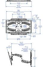 Кронштейн настенный TS525T, фото 3