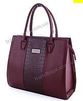 bcbdcbf32bb3 Женская сумка WeLassie 31622 wine женские деловые сумки, каркасная сумка