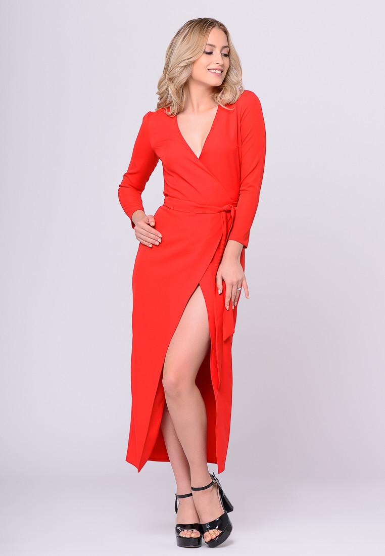 Платье LiLove 388 46 красный