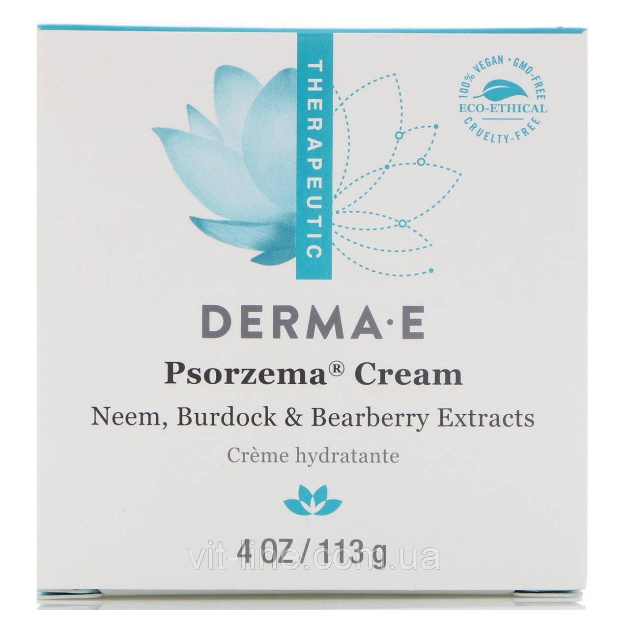 Derma E, Psorzema Крем от псориаза  (113 г)