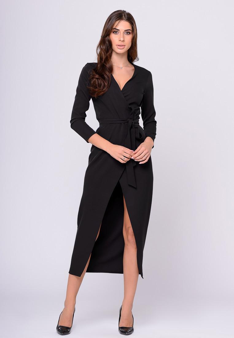 Платье LiLove 388-1 46 черный