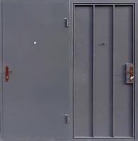 Металлическая входная - техническая дверь сталь 1мм.