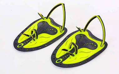 Лопатки для плавания гребные SPDO желтый