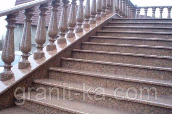 Изготовление лестниц из гранита