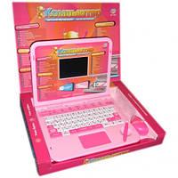 Детский обучающий русско-английский ноутбук Joy Toy 7025 со стилусом