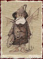 """54-A032 К Набор для вышивания крестом NIMUЁ Le Pecheur """"Рыбак"""", Код товара: 1059220"""