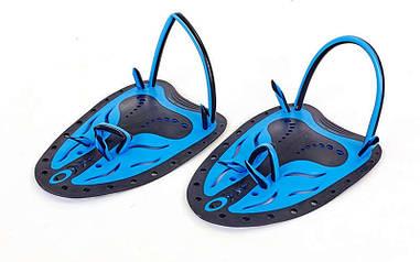 Лопатки для плавания гребные SPDO синий