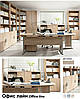 Стол письменный_BIU 140 Офис Лайн Дуб Сонома (Гербор ТМ), фото 2
