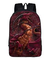 Рюкзак школьный городской Красный дракон, фото 1