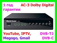 T2 ресивер (тюнер) World Vision T62A - Т2+YouTube+IPTV