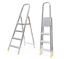 Лестница алюминий 4 ступени ALVE 282 см