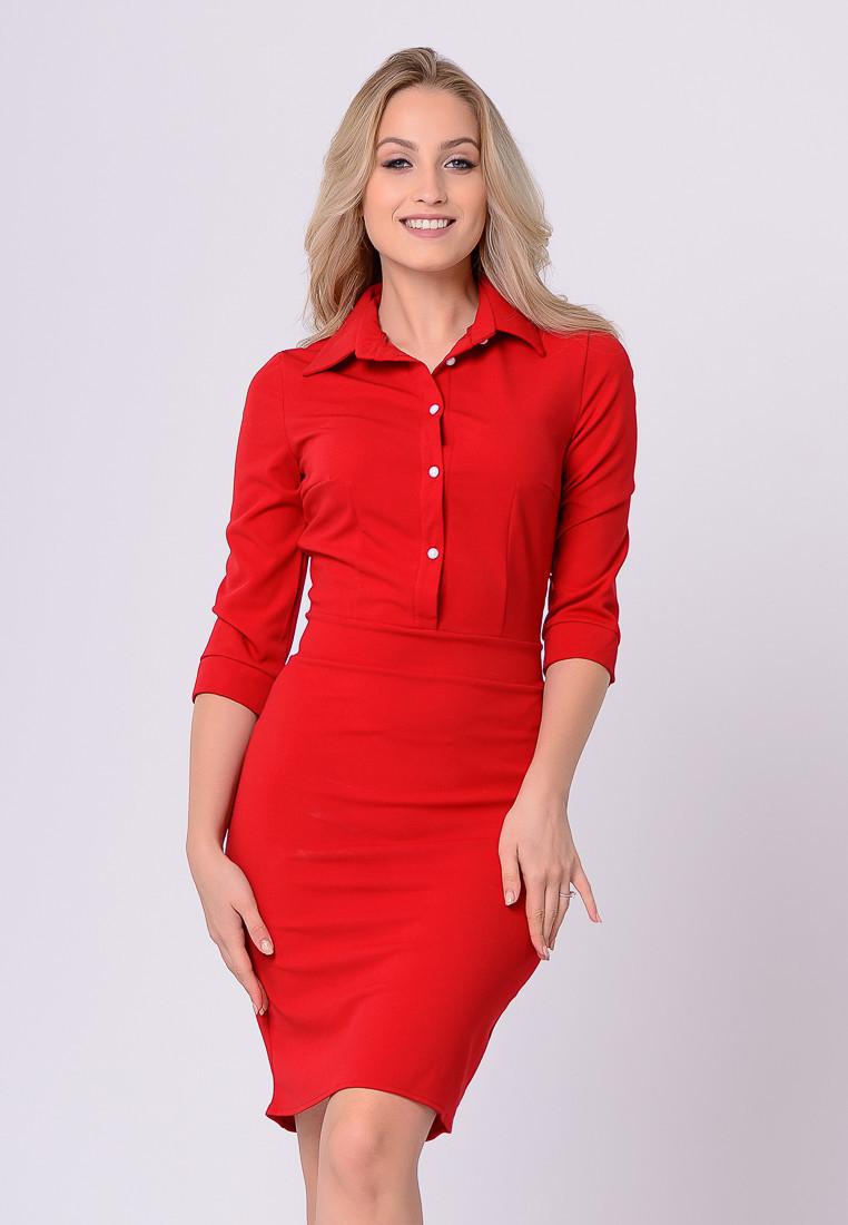 Платье LiLove 384 46 красный