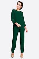 Стильный костюм Valerie темно-зеленый (42-52)