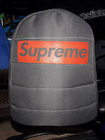 Рюкзак Supreme 115711 тканевый на 20 л один отдел без карманов копия школьный дно из кожзама, фото 1