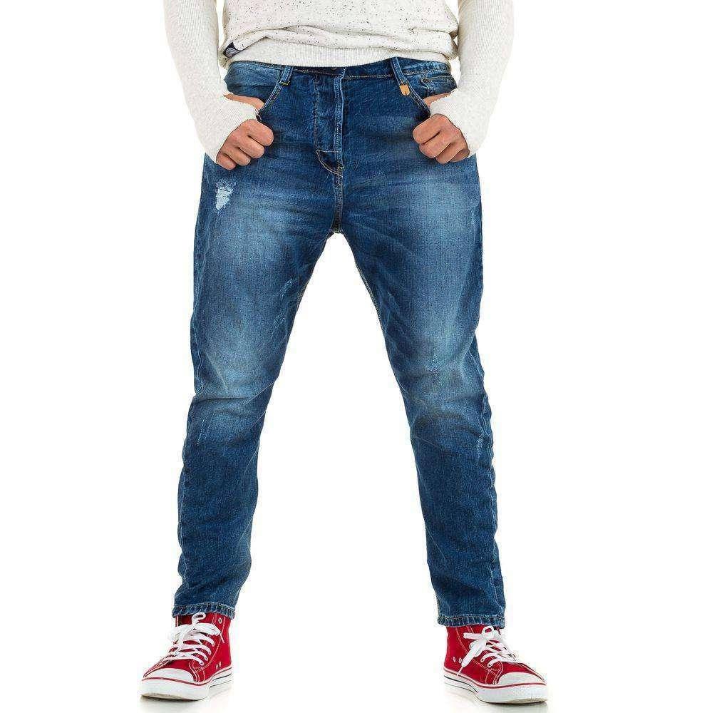 Свободные джинсы мужские Y.Two Jeans (Италия), Синий