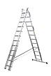 Лестница алюминий 3х9 BRIKS 540 см, фото 3