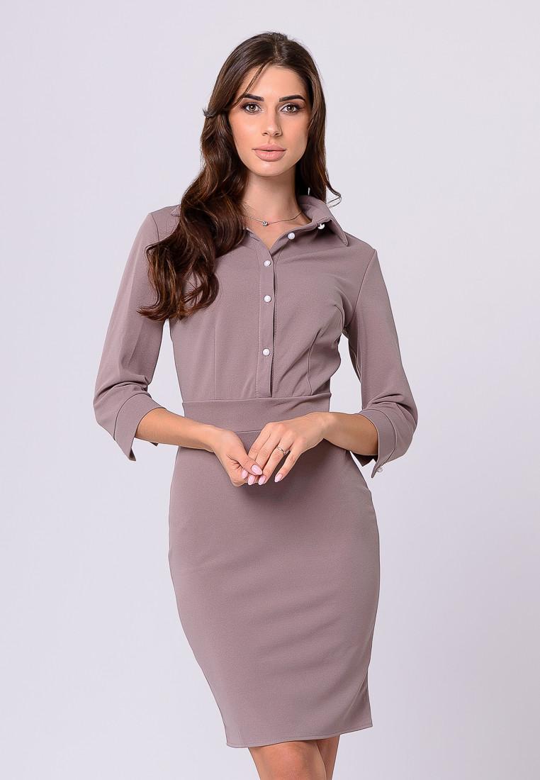 Платье LiLove 384-2 42 бежевый