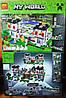 Конструктор Bela 10472 Майнкрафт Minecraft Крепость 990 дет