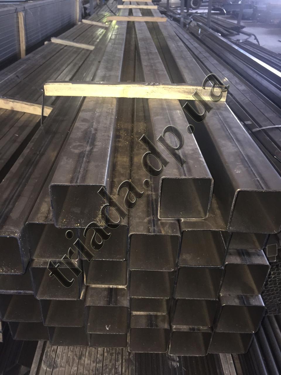 Труба 80х80х2,0 сварная стальная квадратная