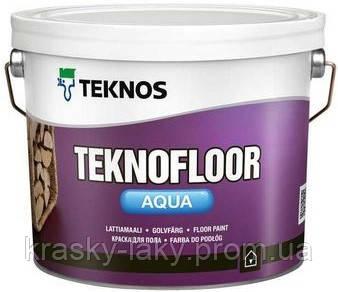 Краска для пола Teknofloor Aqua Teknos, 9л.