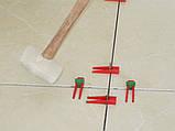 Система вирівнювання плитки (основа 200 шт), фото 4