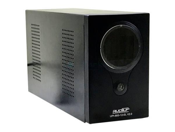 Бесперебойник RUCELF UPI-800-12-EL - ИБП (12В, 500Вт) - инвертор с чистой синусоидой