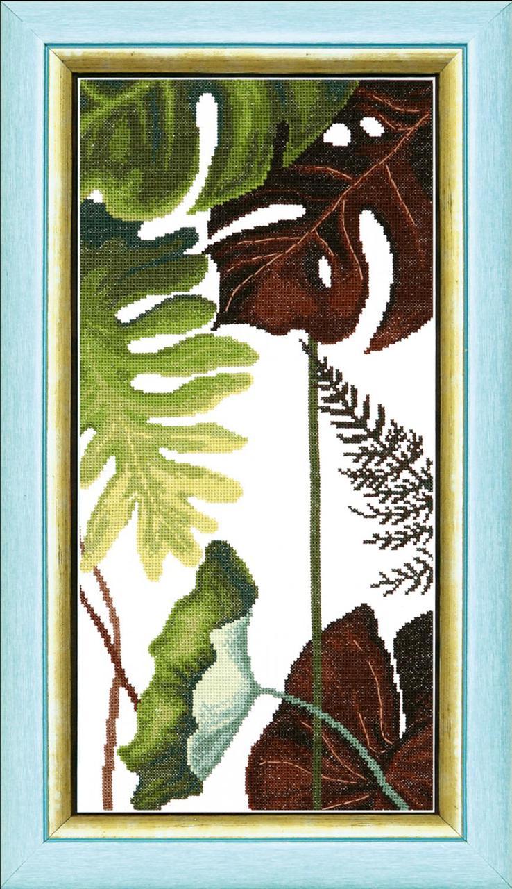 """ВТ-167 Набор для вышивания крестом Crystal Art Триптих """"Сквозь жаркие тропики"""", Код товара: 1057911"""
