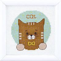 """ВТ-201 Набор для вышивания крестом Crystal Art Серия """"Мир животных"""", Код товара: 1063660"""